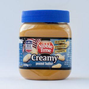 Erdnussbutter creamy Nibble Time