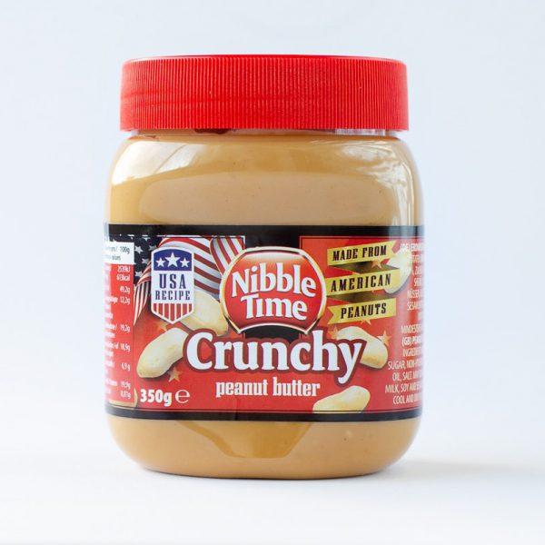 Nibble Time Erdnussbutter crunchy