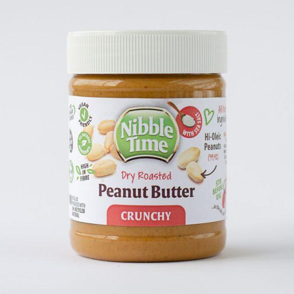 Nibble Time Erdnussbutter ohne Palmöl und Zucker