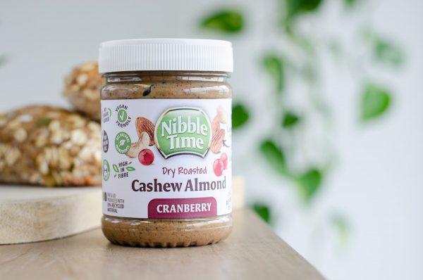 Nibble Time Cashew-Mandeln-Cranberry-Creme