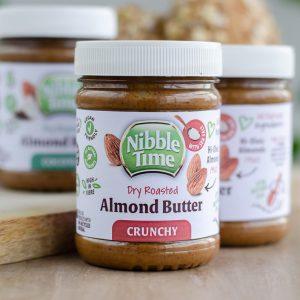 Nibble Time 100 % Mandelcreme ohne Palmöl