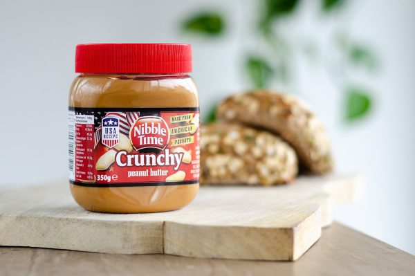 Nibble Time Erdnusscreme crunchy