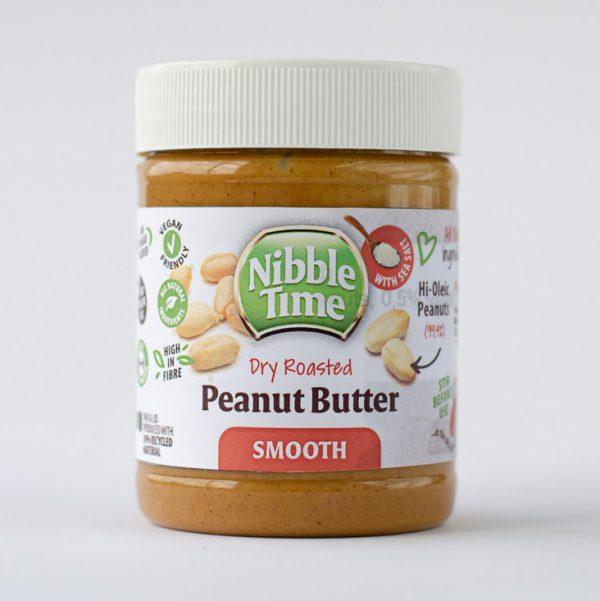 Nibble Time Erdnussbutter ohne Palmöl
