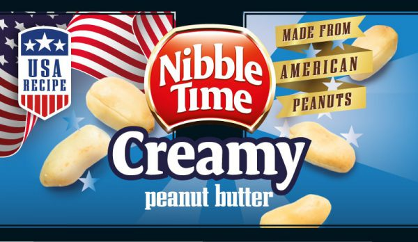 Nibble Time Erdnussbutter creamy