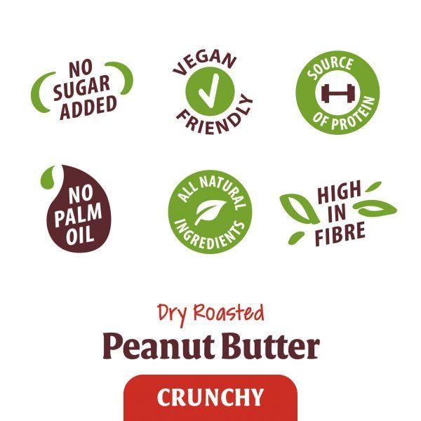 Peanut Butter Crunchy Vegan