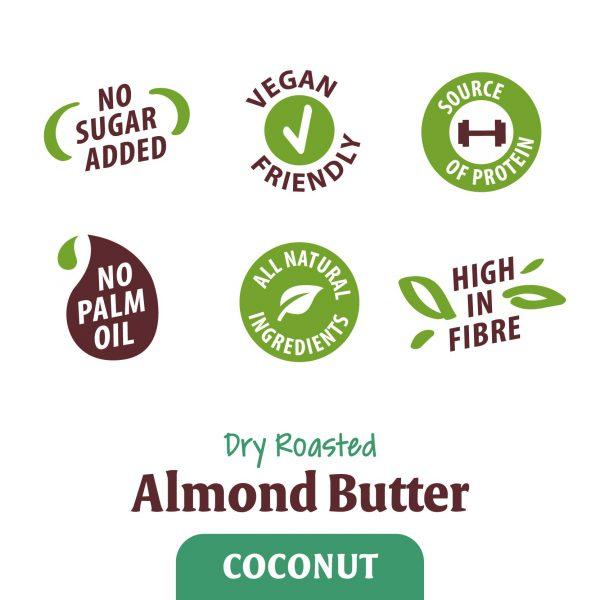 Mandelcreme mit Kokosnuss ohne Palmöl